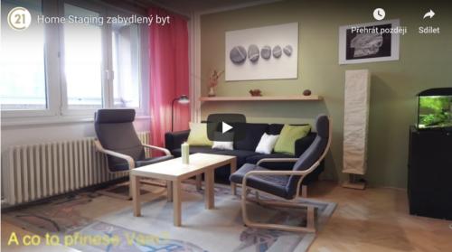 Home Staging – Zabydlený byt