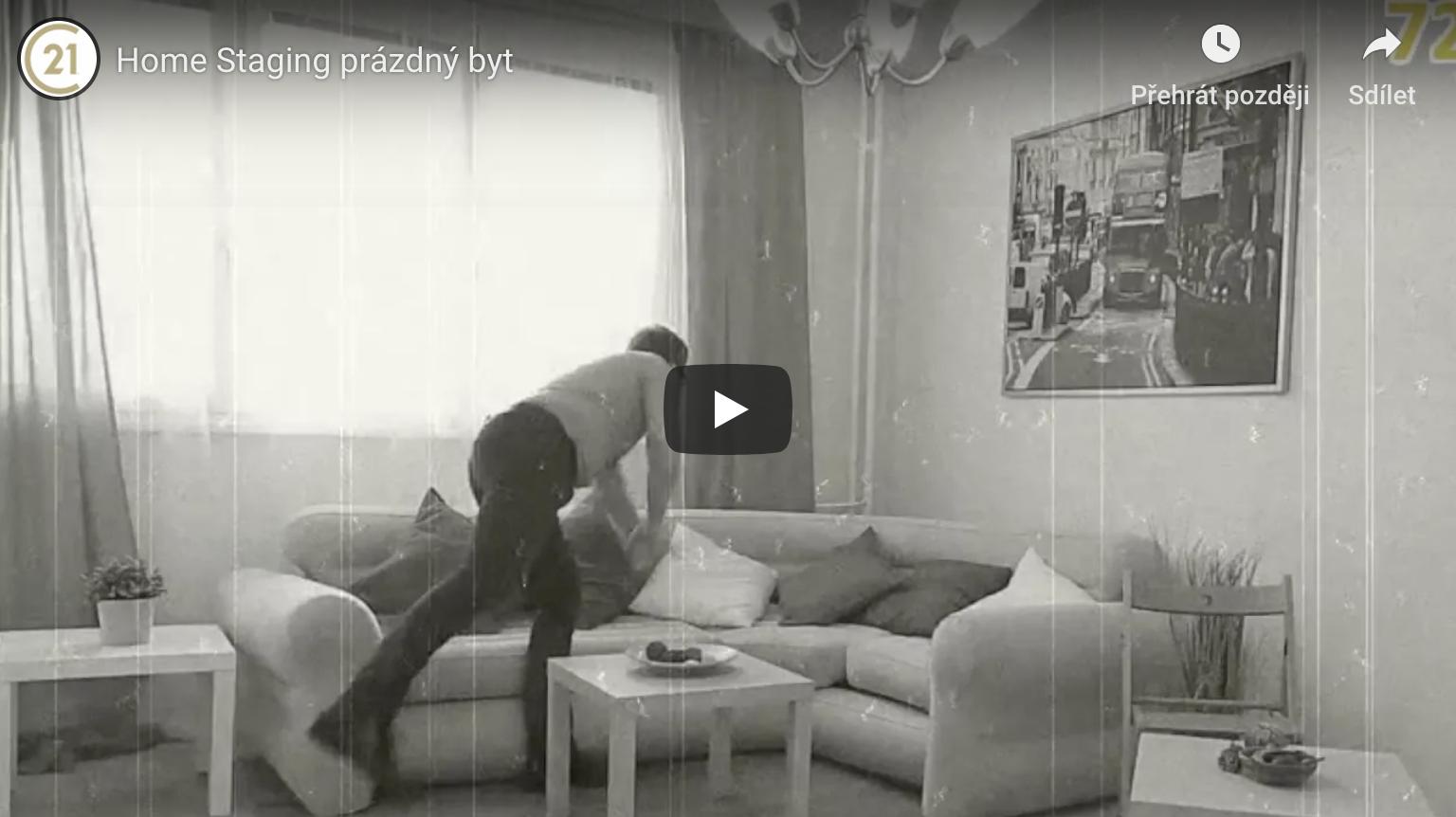 Příprava bytu k prodeji – Prázdný byt